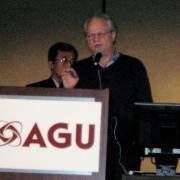 Michael Ghil delivers the Lorenz Lecture at the Fall AGU Meeting