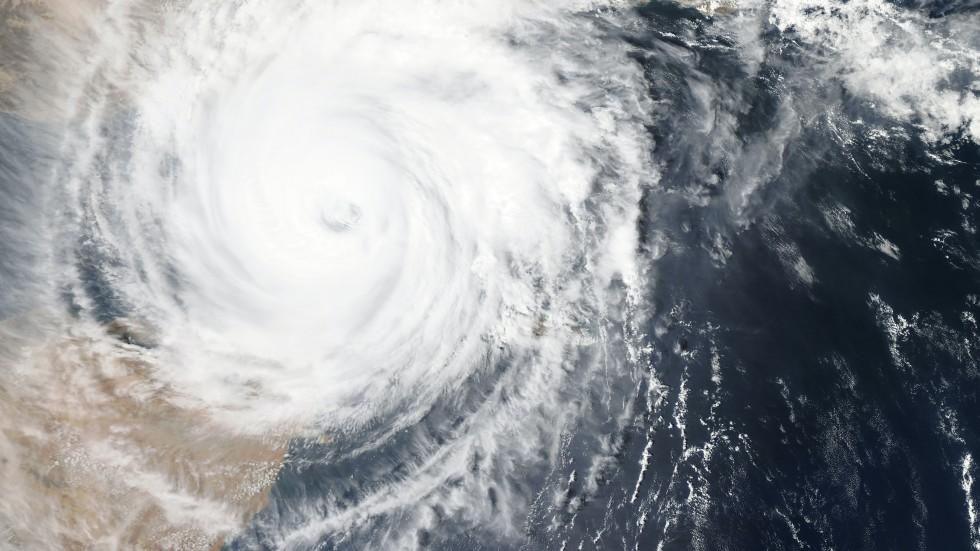 Satellite Image of Hurricane - NASA